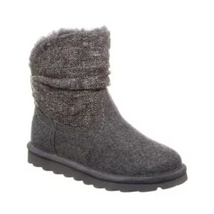 BearPaw Virginia Winter Ankle Boots Gray Boots